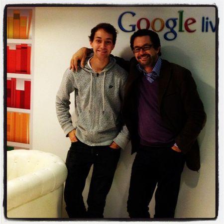 Alex et jf chez Google