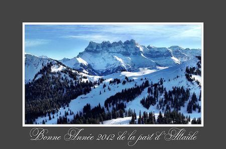 ALTAIDE Voeux Bonne Année 2012 blog