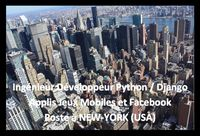 Developpeur python a new york usa