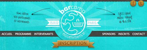 Barcamp ecommerce